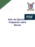 50016 - 7061_ Guía de Ejercicios Propuestos Sobre Rectas