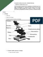 Temario de Examen de Biología Del i Trimestre 2014