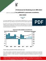 Revista ANDA 53 - WFA WARC gasto mundial en publicidad y panorama económico 2014-2015