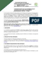 Edital -Doutorado 2014 Ppg-bio