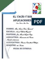 El Vacio y Sus Aplicaciones.