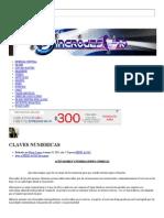 Claves Numericas - Sincro-Destino