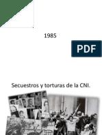 Secuestros y Torturas de La CNI