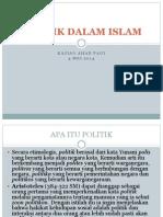 Politik Dalam Islam