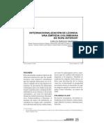 Estudios Gerenciales No 98.PDF - Internacionalizacion Leonisa Empresa Colombiana Ropa Interior