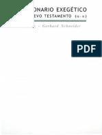 Balz Horst Y Schneider Gerhard - Diccionario Exegetico Del Nuevo Testamento - Tomo I.pdf