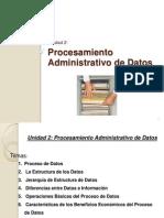 Unidad 2- Procesamiento Administrativo de Datos