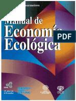 Libro Manual de Economia Ecologica