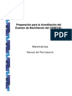10.- Manual de Matemáticas 2010