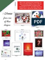 Christmas Card Flyer 09