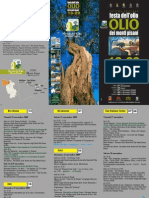 Programma Festa Olio dei Monti Pisani 2009
