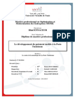 Developpement Paiement Mobile Poste Tunisienne