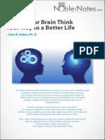 Pdf brain rewire your