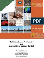 Optimizacion de Produccion Por Aplicacion de Lazo de Control