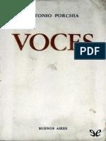Porchia, Antonio - Voces [3124] (r1.1 Moro)