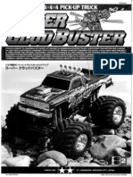 Tamiya Clod Buster manual