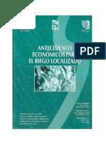 Antecedentes Económicos Para El Riego Localizado
