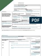 unit plan overview template