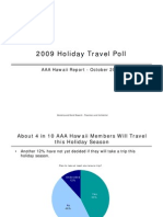 2009 Holiday Travel Poll_AAA HI