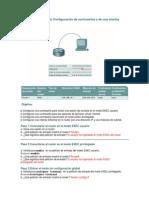 Práctica de Laboratorio Configuración Router