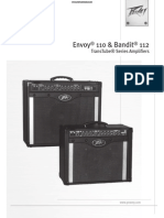 Peavey Bandit and Envoy Amplifier Manual