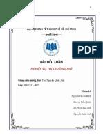 Nghiệp Vụ Thị Trường Mở - Nhóm 4b - Lớp NH1CLC K37