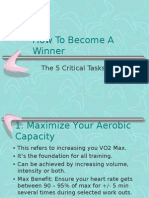 How to Become a Winner