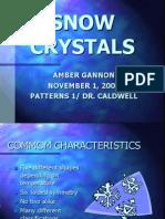 4 Snow Crystals