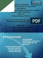 Presentacion de Nucleo Exposicion Original
