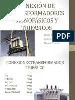 Conexión de Transformadores Monofásicos y Trifásicos