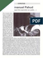 Rencontre Emmanuel Pahud