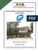 Relatrio de Gesto 2007