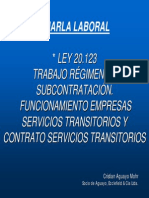 Ley 20123 Ppt