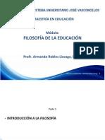 Parte 01 Filosofía Educación