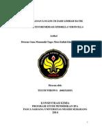 Penanggulangan Logam Cr Pada Limbah Batik New