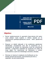 Analisis Geometrico Geotecnico Banco Berma