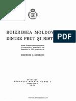 Boierime Moldoveidintre Prut si Nistru Gheorghe  Bezviconi Vol I