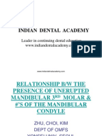 Mand 3rd Molar / orthodontic courses by Indian dental academy