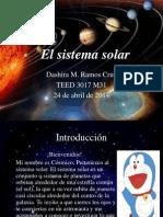 Webquest El Sistema Solar