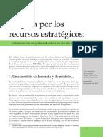 Disputa por los recursos estratégicos en Guatemala
