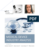 medical device industry analysis