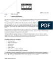 Ambleside and Dundarave Ratepayers' Association 2009 AGM Announcement & Agenda