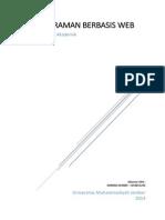 Pemrograman Berbasis Web - Sistem Informasi Akademik