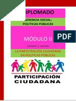 Diplomado Gerencia Social- Modulo II[1]