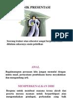 6 Teknik Presentasi