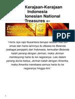 Harta Kerajaan Kerjaan Nusantara