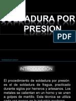 Soldadura Por Presion
