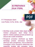 P-7 Metode Preparasi Produk Steril