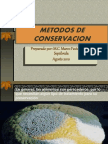Metodos de Conservacion Prof. Favio 2010