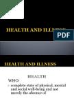 3 Health and Illness